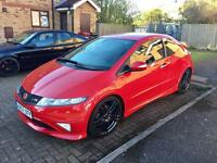 "Honda Civic Type R GT SATNAV + Rage 19"" Alloys"