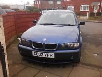 Bmw318i relisted due to wasters