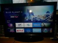 """📺DigiHome 32"""" Smart LCD TV Television📺Built In DVD📺2 HDMI 1 USB📺FreeView HD📺"""