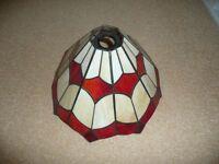 PAIR of TIFFANY STYLE LAMP SHADES
