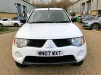 MITSUBISHI L200 2.5 DI-D 4 WORK DOUBLECAB PICK UP 4X4 MANUAL 4 DOORS 2007 for sale  Luton, Bedfordshire
