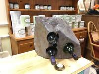 Selections of Welsh Slate wine racks