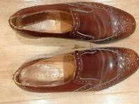 Barker's Brogues Brown size 10.5