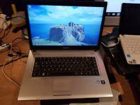 Perfect working order Samsung r519 windows 7 250g hard drive 4g memory webcam wifi d