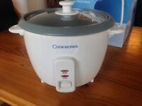 Rice Cooker in Great condition new in box