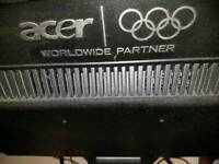 2 of 2 Acer special edition Olympic monitor