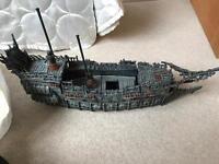 Large mixed bag of megabloks in pirates of the Caribbean ship