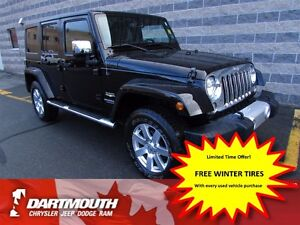 2014 Jeep Wrangler UNLIMITED SAHARA/4X4
