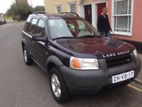 LEFT HAND DRIVE LANDROVER FREELANDER, DRIVES EXCELLENTLY AND EXPORT DOCUMENTS SORTED....CALL ME
