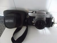 Miranda, 35ml, 1971 vintage camera with leather case