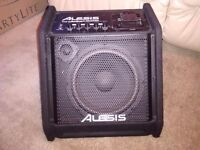 Alesis Transactive Drummer amplifier Amp 50w RMS for Electric Drum Kit/electronic musical instrument