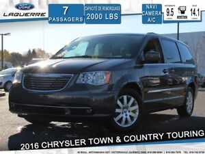 2016 Chrysler Town & Country TOURING*7 PLACES*GPS*CAMERA*BLUETOO