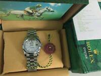 New Swiss Men's Rolex Oyster Day Date Perpetual Automatic Watch, Stone face