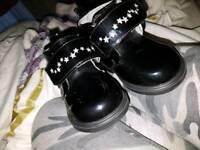 Black Hush Puppies Little Girls Black Boots