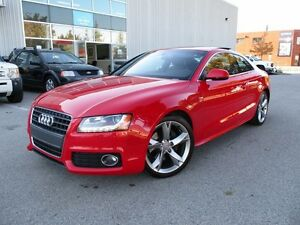 2010 Audi A5 2.0T S-Line Rare Red Color