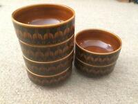 Hornsea Heirloom 1970's Set of 6 Soup Bowls
