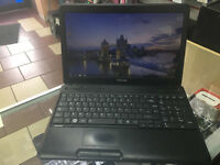 "TOSHIBA SATELLITE C660-18C LAPTOP. 15.6"" wide big screen"