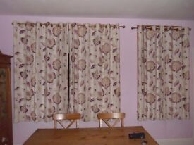 Curtains - eyelets - very good condition