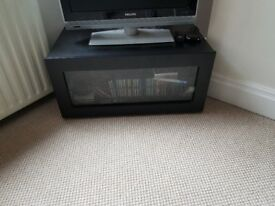 Free black gloss wooden tv cabinet