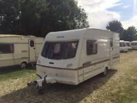 2 BERTH LIGHTWEIGHT 2003 LUNAR CLUBMAN WITH END BATHROOM AND WE CAN DELIVER