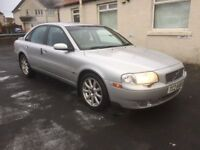 STUNNING VOLVO S80 D5 AUTOMATIC 9 MONTHS MOT RELIABLE CAR PX WELCOME £1200