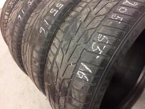 4 semperit winter tires:205/55R16