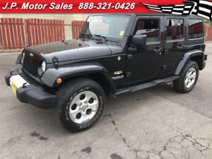 2015 Jeep Wrangler Unlimited Sahara, Automatic, A/C Navigation,