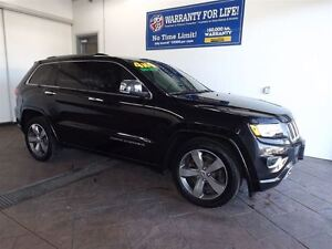 2014 Jeep Grand Cherokee OVERLAND 4X4 LEATHER NAV SUNROOF *DIESE