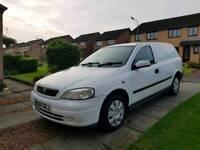 ☆ Vauxhall Astra van • 9 Months M.O.T • Very Clean example • Great Driving Van ☆