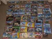 Various Lego instructions