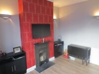 A 3 bedroom first floor maisonette own of section of rear garden in Kitchener Road n2