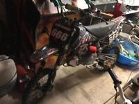 Race Pit Bike Demon X 160 XLR plus £1580 in extras