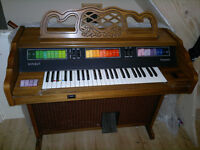 kimball caravan electric organ in full workning order VGC