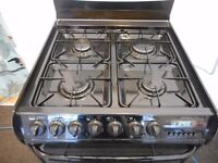 dual fuel CANNON double oven fan assisted gas cooker