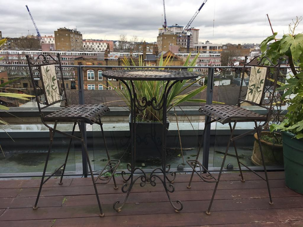 Outdoor bistro table and chairs camden