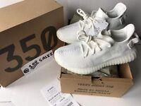 Adidas X Kanye West Yeezy Boost 350 V2 Cream White UK5.5/US6/EU38 2/3 CP9366 JD Receipt 100sales