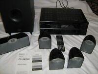 ONKYO TX-SR308 AV Receiver with Speakers