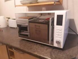Combination oven and grill