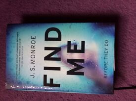 Find Me by J.S. Monroe 2017 book