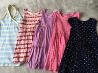 Girls age 6-8 H&M Summer Dress Bundle
