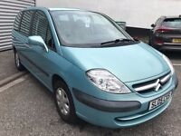 Fabulous Value 2005 8 Seater People Carrier Citroen C8 MPV Only 67000 Miles HPI Clear Great History