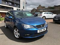 2012 (12) 1.4 SE Seat Ibiza [hatchback] in blue, excellent condition