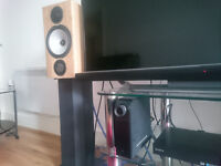 NAD D3020 and Monitor Audio Bronze BX2 and Alphason Stands