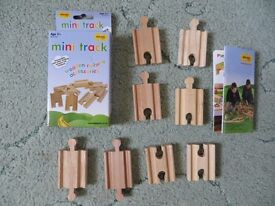 Wooden railway parts- Bigjigs.