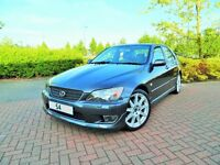 LEXUS IS200 SE, 2004 54 Reg, 106k, 11 Months MOT, AERO KIT, Service History, 6 Speed, Full Leather