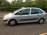 Citroen pacasso1.8cc petrol new clutch in Jan new battery 6half months mot sun roof
