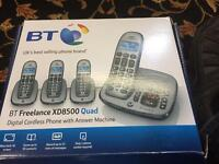 BT freelance xd8500 quad phone