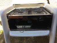 Gas burner & grill