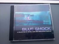 Blue Shock drum beats sample CD