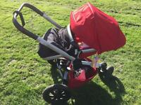 Quinny Buzz Xtra pushchair and carrycot